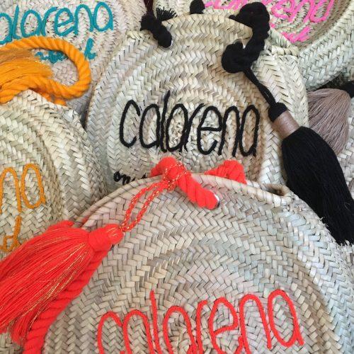 Paniers ronds anses coton