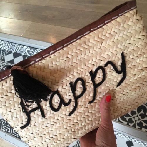Pochette Happy Cuir