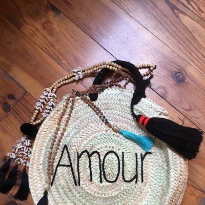 Panier Rond Amour