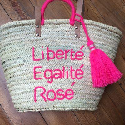 Panier Liberté Egalité Rosé