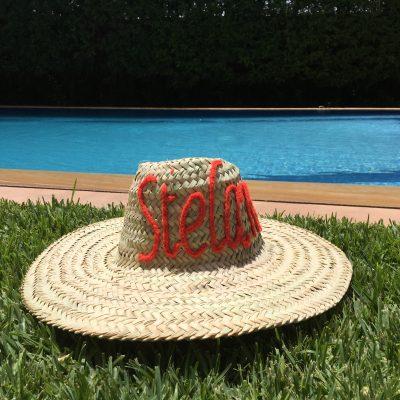Chapeau Brodé